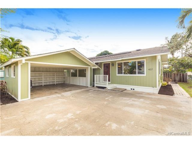 437 Hualani Street, Kailua, HI 96734 (MLS #201725818) :: The Ihara Team