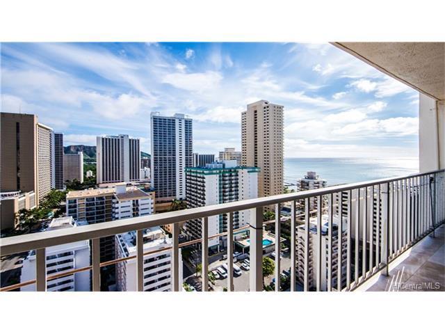 2427 Kuhio Avenue #2408, Honolulu, HI 96815 (MLS #201725859) :: The Ihara Team
