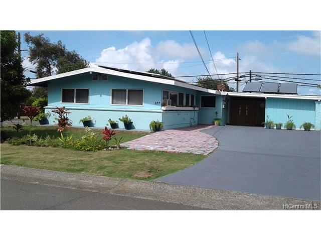 577 Ululani Street, Kailua, HI 96734 (MLS #201800947) :: Elite Pacific Properties