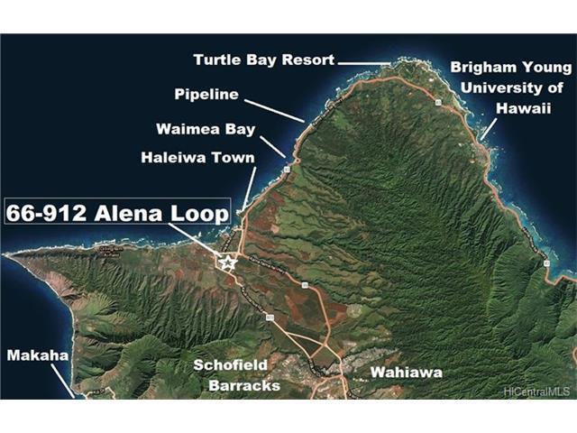 66-912 Alena Loop, Waialua, HI 96791 (MLS #201803788) :: Team Lally