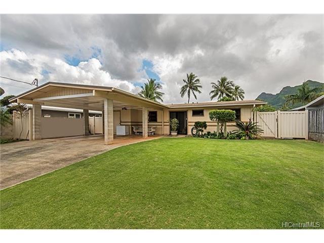 1033 Akumu Street, Kailua, HI 96734 (MLS #201804145) :: Team Lally