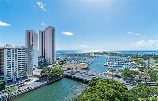 1650 Ala Moana Boulevard #1713, Honolulu, HI 96815 (MLS #201807076) :: Elite Pacific Properties
