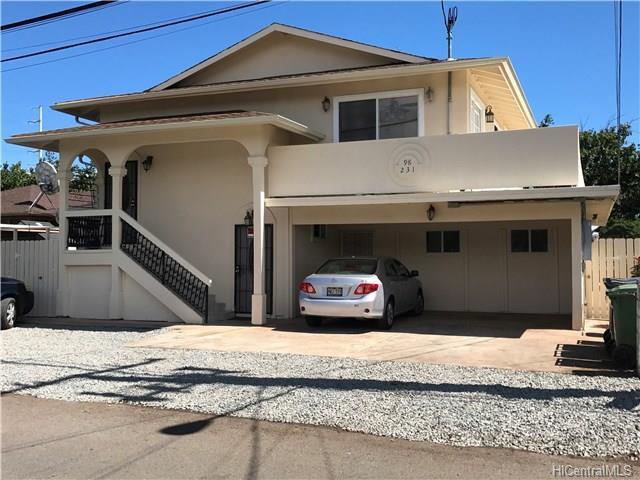 98-231 Kaluamoi Place, Pearl City, HI 96782 (MLS #201807373) :: Elite Pacific Properties