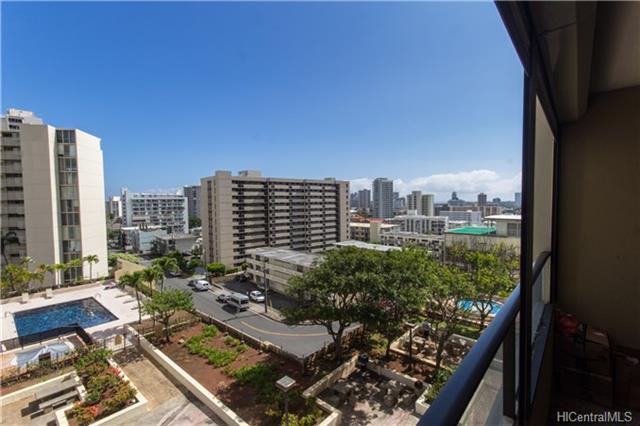 1717 Mott Smith Drive #809, Honolulu, HI 96822 (MLS #201807702) :: Keller Williams Honolulu