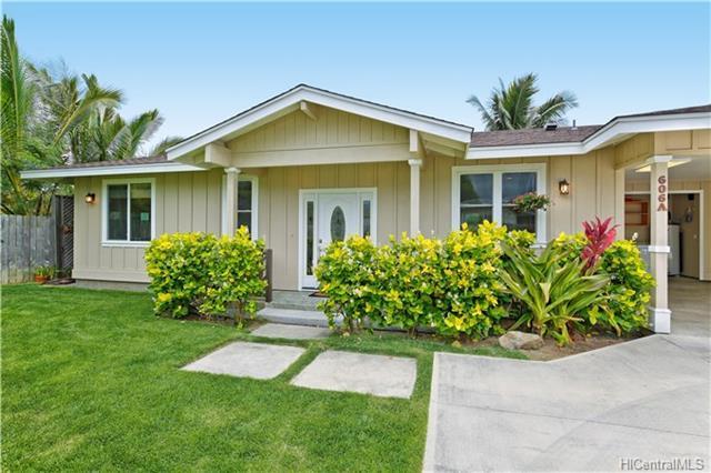 606A Kawainui Street, Kailua, HI 96734 (MLS #201812625) :: Keller Williams Honolulu