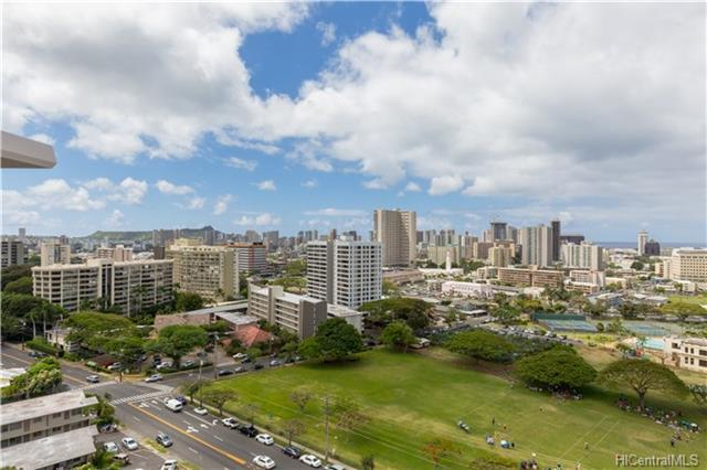 1617 Keeaumoku Street #1701, Honolulu, HI 96822 (MLS #201812685) :: Keller Williams Honolulu