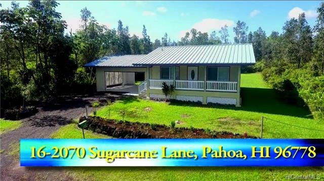 16-2070 Sugarcane Lane, Pahoa, HI 96778 (MLS #201813601) :: The Ihara Team