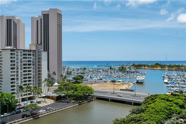 419A Atkinson Drive #1407, Honolulu, HI 96814 (MLS #201815628) :: The Ihara Team
