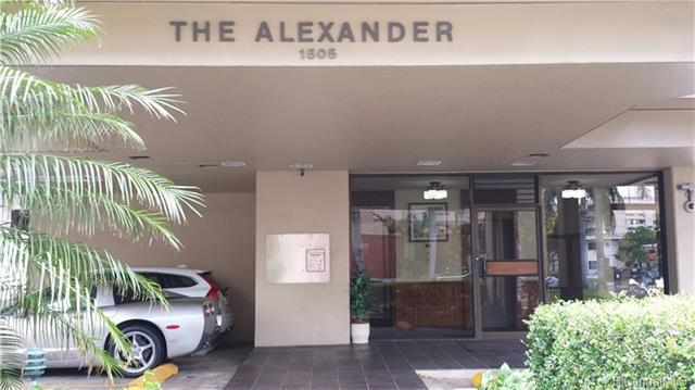 1505 Alexander Street #202, Honolulu, HI 96822 (MLS #201816140) :: The Ihara Team