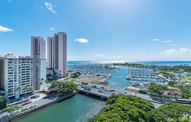 1650 Ala Moana Boulevard #1713, Honolulu, HI 96815 (MLS #201816404) :: Elite Pacific Properties