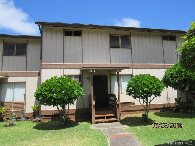 98-521C Kamahao Place #22, Pearl City, HI 96782 (MLS #201817703) :: Team Lally