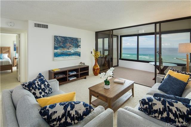 1600 Ala Moana Boulevard #3702, Honolulu, HI 96815 (MLS #201820630) :: Redmont Living