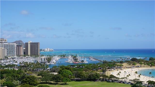 1350 Ala Moana Boulevard #1904, Honolulu, HI 96814 (MLS #201821708) :: Team Lally