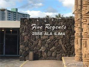 2888 Ala Ilima Street #702, Honolulu, HI 96818 (MLS #201824039) :: Keller Williams Honolulu