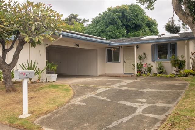 391 Hanamaulu Street, Honolulu, HI 96825 (MLS #201829635) :: The Ihara Team