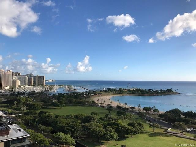 1350 Ala Moana Boulevard #2202, Honolulu, HI 96814 (MLS #201830907) :: Team Lally