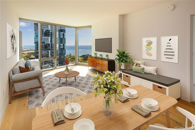 1001 Queen Street #2302, Honolulu, HI 96814 (MLS #201901483) :: Elite Pacific Properties