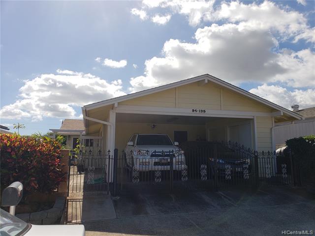 94-135 Kupuohi Place, Waipahu, HI 96797 (MLS #201903087) :: The Ihara Team