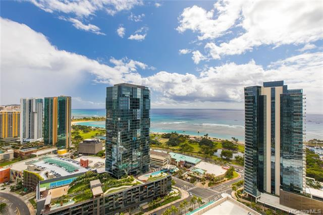 1001 Queen Street #3308, Honolulu, HI 96814 (MLS #201904489) :: RE/MAX PLATINUM
