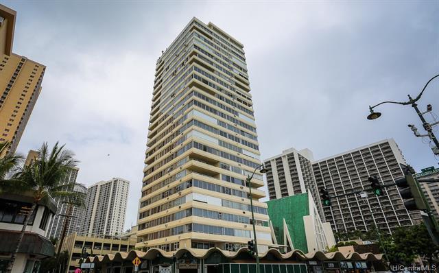 2500 Kalakaua Avenue #404, Honolulu, HI 96815 (MLS #201904516) :: The Ihara Team