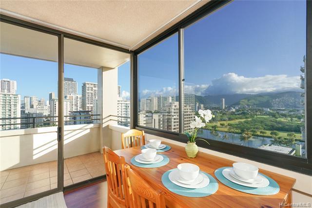 2410 Cleghorn Street #1601, Honolulu, HI 96815 (MLS #201908474) :: Elite Pacific Properties