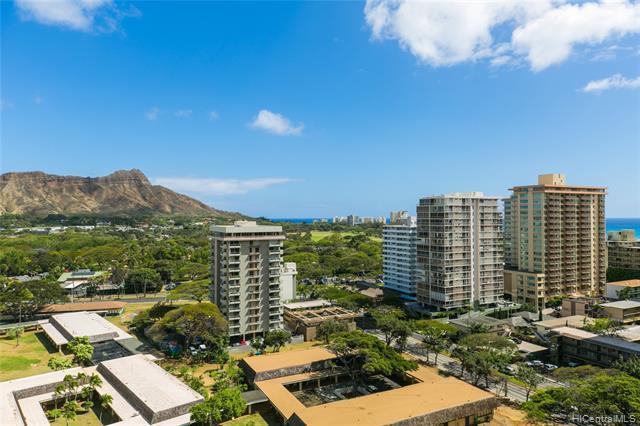 229 Paoakalani Avenue #1712, Honolulu, HI 96815 (MLS #201911038) :: Team Lally