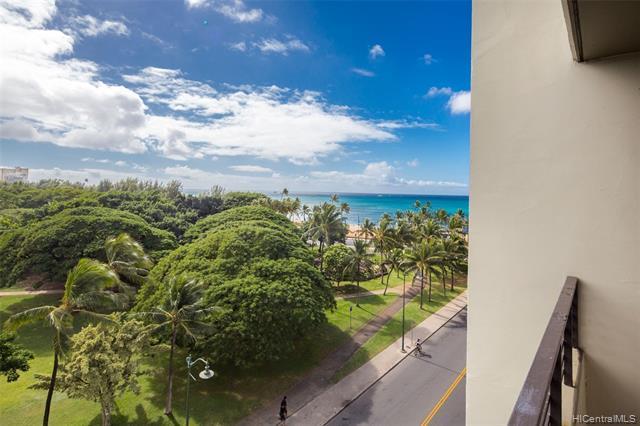134 Kapahulu Avenue #710, Honolulu, HI 96815 (MLS #201911502) :: Hardy Homes Hawaii