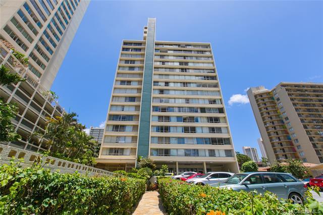 435 Seaside Avenue #708, Honolulu, HI 96815 (MLS #201913670) :: Barnes Hawaii