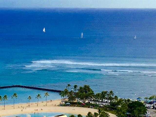 1700 Ala Moana Boulevard #3803, Honolulu, HI 96815 (MLS #201914172) :: Barnes Hawaii