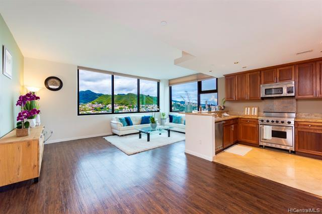 1199 Bishop Street 17A, Honolulu, HI 96813 (MLS #201917429) :: Barnes Hawaii