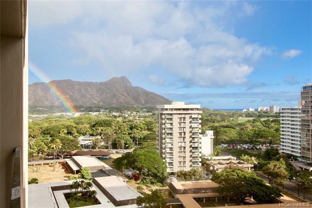 229 Paoakalani Avenue #1508, Honolulu, HI 96815 (MLS #201917515) :: The Ihara Team