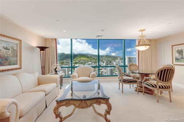 1888 Kalakaua Avenue 35th Floor, Honolulu, HI 96815 (MLS #201917543) :: Elite Pacific Properties