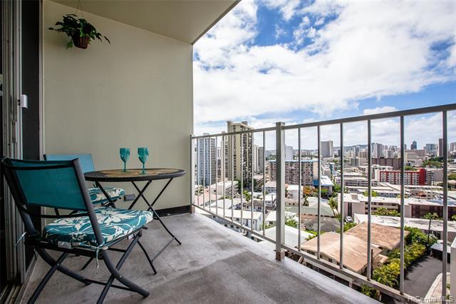 1069 Spencer Street #802, Honolulu, HI 96822 (MLS #201921006) :: Keller Williams Honolulu
