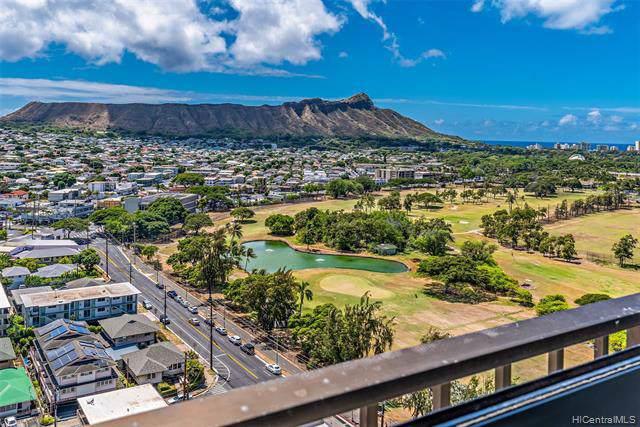 2916 Date Street 21J, Honolulu, HI 96816 (MLS #201924540) :: Barnes Hawaii