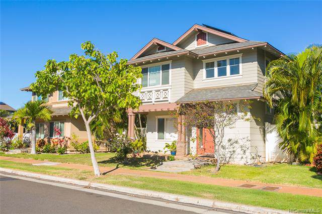 91-1022 Kai Weke Street, Ewa Beach, HI 96706 (MLS #201926132) :: Team Lally