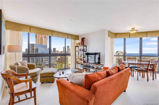 600 Queen Street #1811, Honolulu, HI 96813 (MLS #201926195) :: Elite Pacific Properties