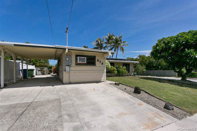 978 Kahili Street, Kailua, HI 96734 (MLS #201926579) :: Team Lally
