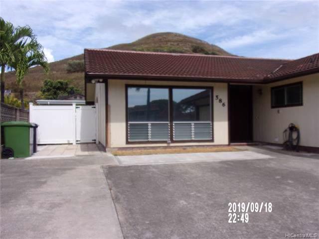 586 Keolu Drive, Kailua, HI 96734 (MLS #201927011) :: The Ihara Team
