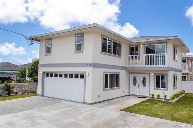 443 Kawainui Street, Kailua, HI 96734 (MLS #201928850) :: Team Lally