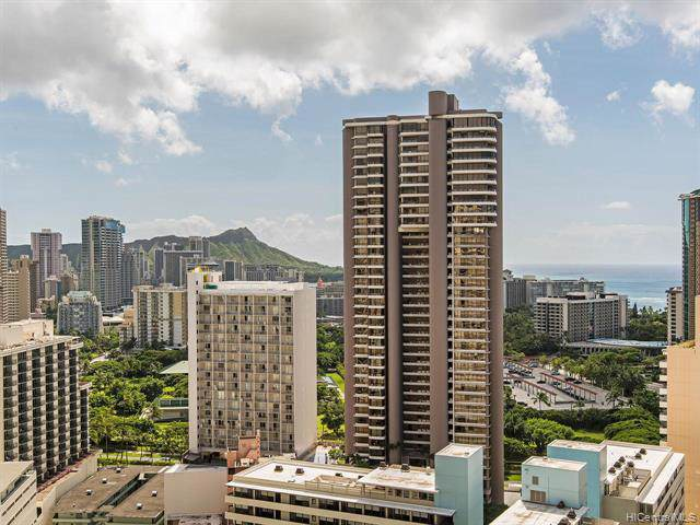 400 Hobron Lane #2801, Honolulu, HI 96815 (MLS #201929472) :: Barnes Hawaii