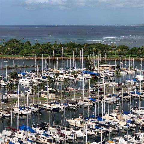 1777 Ala Moana Boulevard #1602, Honolulu, HI 96815 (MLS #201929479) :: Barnes Hawaii