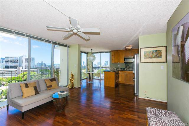 1634 Makiki Street #902, Honolulu, HI 96822 (MLS #201929701) :: Keller Williams Honolulu