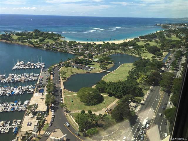 1600 Ala Moana Boulevard #3902, Honolulu, HI 96815 (MLS #201930952) :: Barnes Hawaii