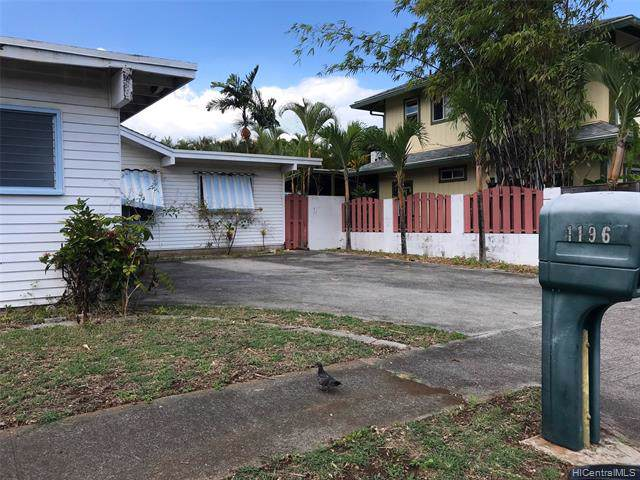 1196 Punua Place, Kailua, HI 96734 (MLS #201931124) :: The Ihara Team