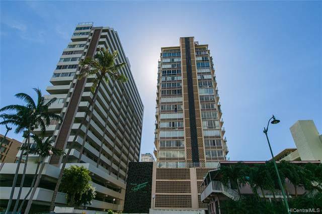 2415 Ala Wai Boulevard #1406, Honolulu, HI 96815 (MLS #201931384) :: The Ihara Team