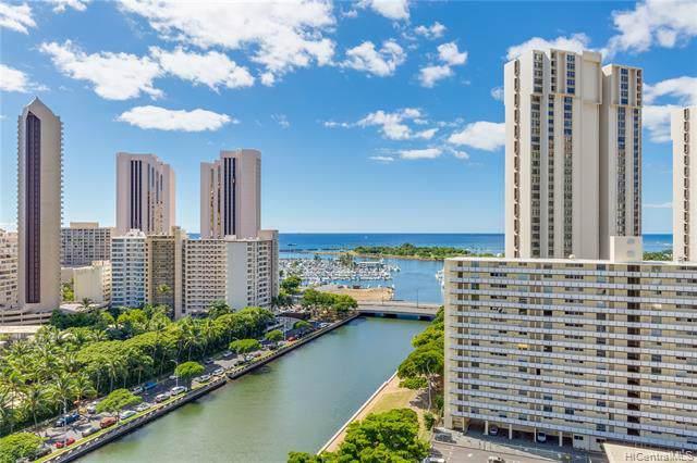 1848 Kahakai Drive #1908, Honolulu, HI 96814 (MLS #201931405) :: Barnes Hawaii