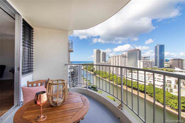 1717 Ala Wai Boulevard #1906, Honolulu, HI 96815 (MLS #201931426) :: Keller Williams Honolulu