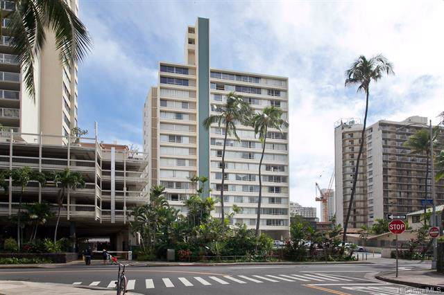 435 Seaside Avenue #1405, Honolulu, HI 96815 (MLS #201932513) :: The Ihara Team