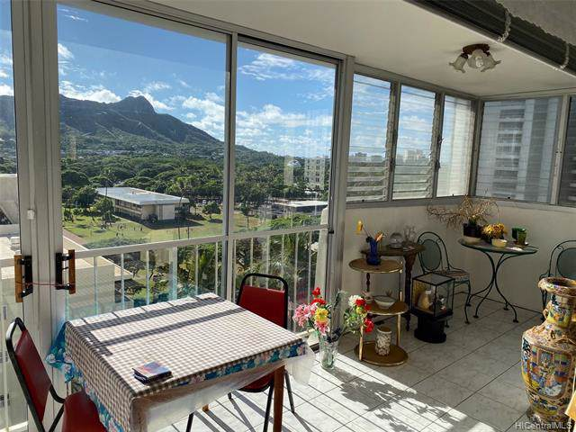 2609 Ala Wai Boulevard #1205, Honolulu, HI 96815 (MLS #201932600) :: Keller Williams Honolulu