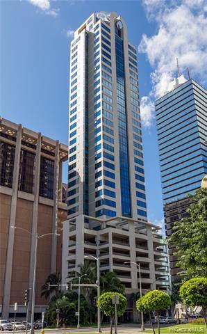1199 Bishop Street #30, Honolulu, HI 96813 (MLS #201932843) :: Corcoran Pacific Properties